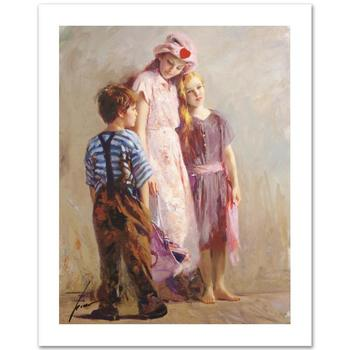 """Pino (1939-2010) """"The Spirit of Love"""" Limited Edition Giclee. Numbered and Hand Signed; Certificate of Authenticity."""