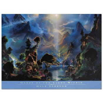 """Dale Terbush, """"Glory of the Light Within-1996"""" Poster (36"""" x 24"""")."""