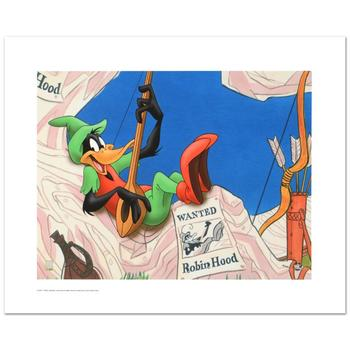 """Warner Bros., """"Robin Hood Daffy"""" Ltd Ed Giclee, Hand Numbered with Hologram Seal of Authenticity & Cert."""