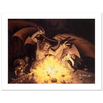 "Brothers Hildebrandt, ""Balrog"" Limited Edition Giclee on Canvas, Numbered and Hand Signed with Certificate."