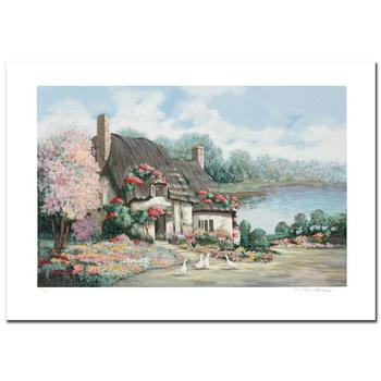 """Earlene Moses, """"Sussex I"""" Limited Edition Serigraph, Numbered and Hand Signed with Certificate of Authenticity."""