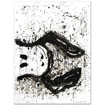 "Everhart, ""Watchdog 3 O'Clock"" Ltd Ed Hand Pulled Original Lithograph Numbered and Hand Signed, with Cert."