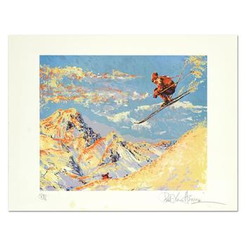 """Paul Blaine Henrie (1932-1999), """"The Sunset Skier"""" Ltd Ed Serigraph from a PP Edition, Hand Signed with LOA. (Disclaimer)"""
