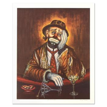 "George Crionas (1925-2004), ""Double Martini"" Limited Edition Lithograph, Numbered and Hand Hand Signed with LOA."