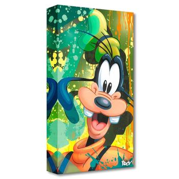 """""""Goofy """" Limited edition gallery wrapped canvas by Arcy from the Disney Fine Art Treasures collection; with COA"""