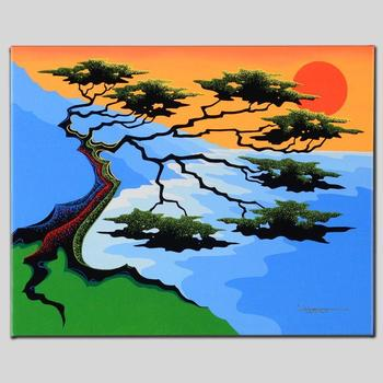 """Larissa Holt, """"Sunset"""" Ltd Ed Giclee on Gallery Wrapped Canvas, Numbered and Signed."""