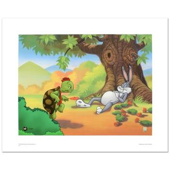 """Warner Bros., """"Snooze, You Lose"""" Ltd Ed Giclee, Hand Numbered with Hologram Seal of Authenticity and Certificate."""