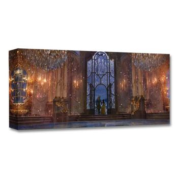 """""""Castle Ballroom (Interior)"""" Limited Edition on Canvas from the Disney Fine Art Treasures Collection; with COA."""