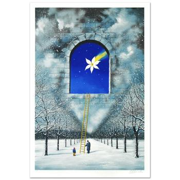 """Olbinski, """"Magical Transparency of Time"""" Ltd Ed Lithograph (24.5"""" x 36.5""""), Numbered and Hand Signed with Cert."""