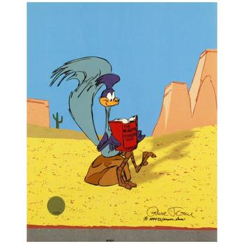 Chuck Jones (1912-2002). Ltd Ed Animation Cel. No. & Hand Signed by Jones with Hand Painted Color and Cert.