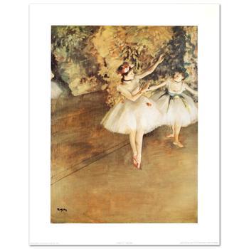 "Degas (1834-1917), ""Two Ballerinas"" Fine Art Print, Using EncreLuxe Printing Process."