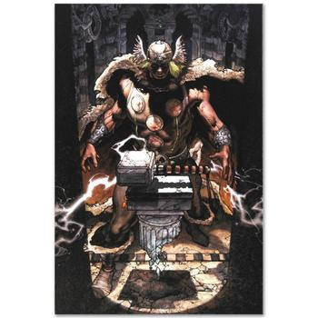 "Marvel Comics ""Thor: For Asgard #6"" Numbered Limited Edition Canvas by Simone Bianchi; Includes COA."