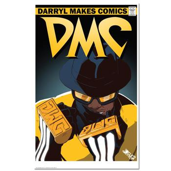 """DMC The All-Time Great"" is a Chromatic Pigment Ink Limited Edition, Numbered and Hand-Signed by ""DMC""."