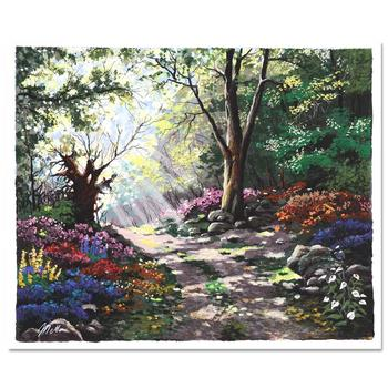 """Anatoly Metlan, """"Rays of Sunshine"""" Limited Edition Serigraph, Numbered and Hand Signed with Certificate."""
