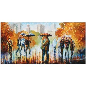 "Leonid Afremov (1955-2019) ""Simple Times"" Limited Edition Giclee on Gallery Wrapped Canvas, Numbered and Signed."