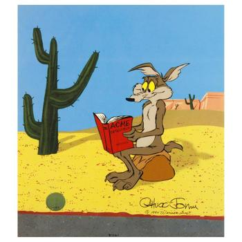 "Chuck Jones (1912-2002), ""Acme Catalogue"" Ltd Ed Animation Cel. No. & Hand Signed w/Hand Painted Color and Cert."