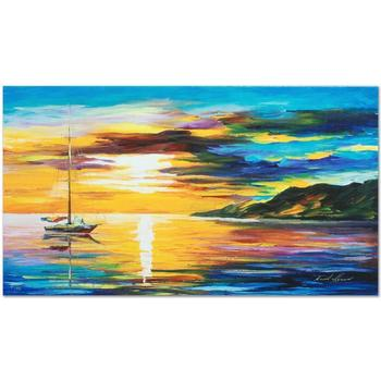 "Leonid Afremov (1955-2019) ""Sunset"" Limited Edition Giclee on Gallery Wrapped Canvas, Numbered and Signed."