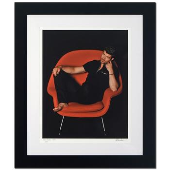 "Rob Shanahan, ""Robin Thicke"" Framed Limited Edition Giclee, Numbered and Hand Signed with Certificate."