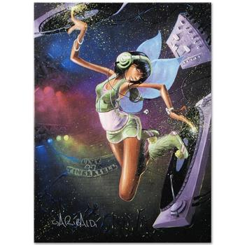 "David Garibaldi, ""Tinkerbell"" LIMITED EDITION Giclee on Canvas (27"" x 36""), AP Numbered and Signed."