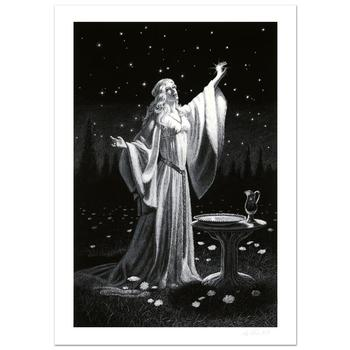 "Greg Hildebrandt, ""Ring Of Galadriel"" Limited Edition Giclee, Numbered and Hand Signed with Certificate."