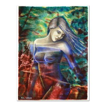 """Rina Sutzkever, """"Captivating Beauty"""" Limited Edition Serigraph, Numbered and Hand Signed with Certificate."""