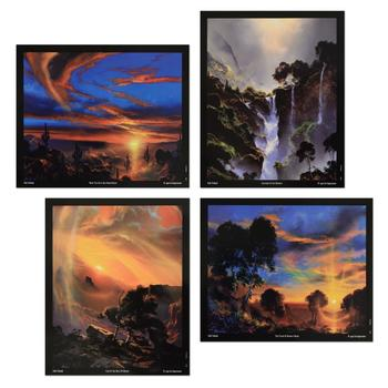 Dale Terbush - Set of Four Mini Prints.