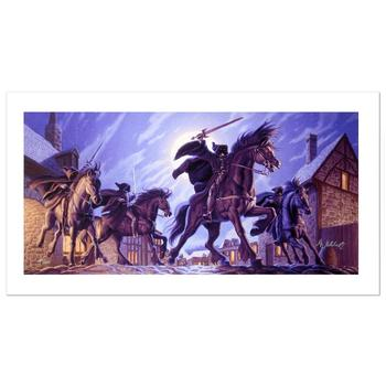 "Brothers Hildebrandt, ""The Black Riders"" Limited Edition Giclee on Canvas, Numbered and Hand Signed with Cert."
