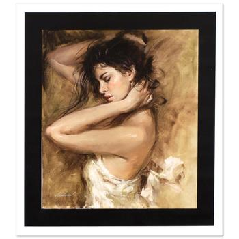 "Andrew Atroshenko, ""Simply Stunning"" Ltd Ed Hand Embellished Giclee on Canvas, Numbered and Hand Signed w/Cert."