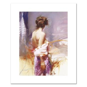 """Pino (1931-2010), """"Twilight"""" Limited Edition on Canvas, Numbered and Hand Signed with Certificate of Authenticity."""