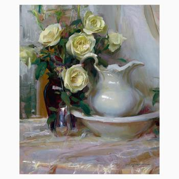 """Dan Gerhartz, """"French Lace"""" Limited Edition on Canvas, Numbered and Hand Signed with Letter of Authenticity."""