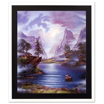 """Jon Rattenbury, """"Timeless Grandeur"""" Ltd Ed Giclee on Canvas, Numbered and Hand Signed with Certificate."""