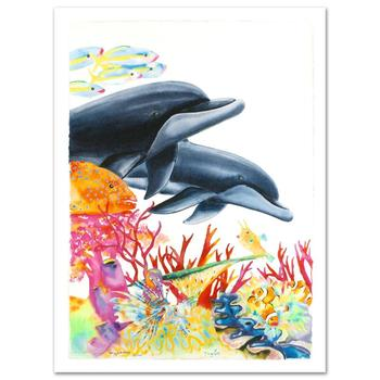 """Wyland, """"Sea of Color"""" Ltd Ed Giclee on Canvas (29.5"""" x 41.5""""), Numbered & Hand Signed by Wyland, w/Cert."""