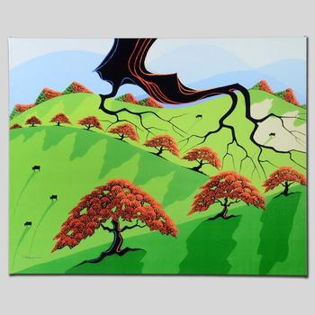 """Larissa Holt, """"Fall Fields"""" Ltd Ed Giclee on Gallery Wrapped Canvas, Numbered and Signed."""