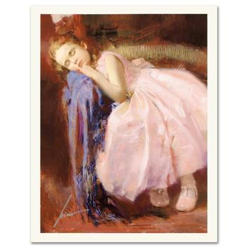 """Pino (1939-2010) """"Party Dreams"""" Limited Edition Giclee. Numbered and Hand Signed; Certificate of Authenticity."""