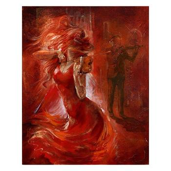 "Lena Sotskova, ""Imagination"" Artist Embellished Limited Edition Giclee on Canvas with COA."