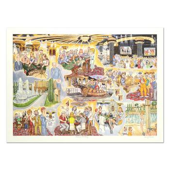 """George Crionas (1925-2004), """"Caesar's Fantasy"""" Limited Edition Lithograph, Numbered and Hand Hand Signed with LOA."""