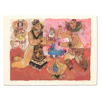 Theo Tobiasse (1927-2012), Limited Edition Lithograph, Numbered CVLL/LL and Hand Signed with LOA. $2,950