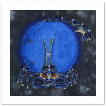 """Lu Hong, """"Scorpio"""" Limited Edition Giclee, Numbered and Hand Signed with COA."""