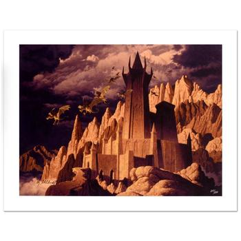 "Brothers Hildebrandt, ""The Dark Tower"" Limited Edition Giclee on Canvas, Numbered and Hand Signed with Certificate."