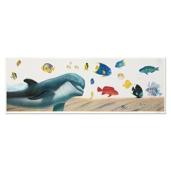 """Wyland, """"Underwater Paradise"""" Limited Edition Lithograph, Numbered and Hand Signed with Certificate of Authenticity."""