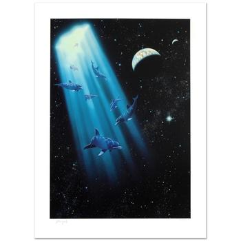 """William Schimmel, """"Conception"""" Ltd Ed Giclee, Numbered and Hand Signed with Certificate."""