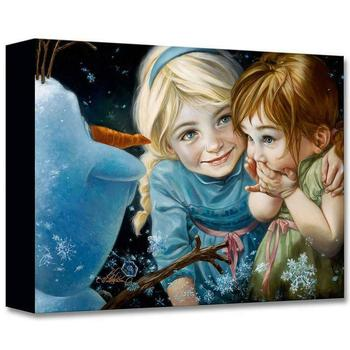 """""""Never Let It Go"""" Limited edition gallery wrapped canvas by Heather Theurer from the Disney Fine Art Treasures collection; COA."""
