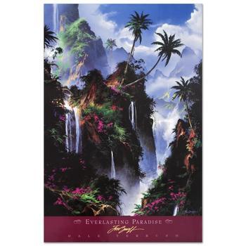 """Dale Terbush, """"Everlasting Paradise"""" Poster (1996)."""