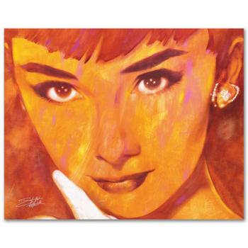 """Stephen Fishwick, """"Audrey Too"""" LIMITED ED Giclee on Canvas, Numbered and Signed."""