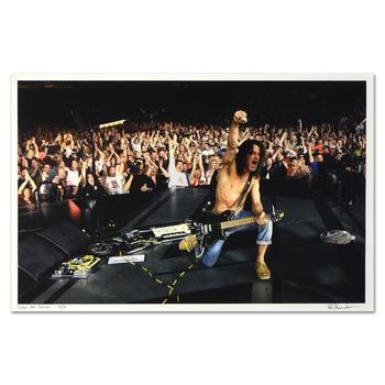 "Rob Shanahan, ""Eddie Van Halen"" Hand Signed Limited Edition Giclee with COA."