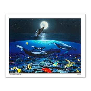 "Wyland, ""The Living Sea"" Limited Edition Giclee on Canvas, Numbered and Hand Signed with Certificate."