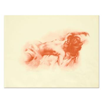 "Julian Ritter (1909-2000), ""Repose"" Limited Edition Lithograph, Numbered and Hand Signed with Letter of Authenticity."