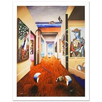 """Ferjo, """"Theresa and 3 Candles"""" Limited Edition Giclee on Canvas (30"""" x 40""""), Numbered and Hand Signed with Cert."""