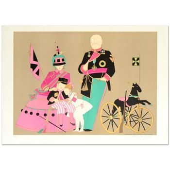 """Denis Paul Noyer, """"Admiral Sir Alvmar & Family"""" Ltd Ed Lithograph, Numbered and Hand Signed with Certificate."""