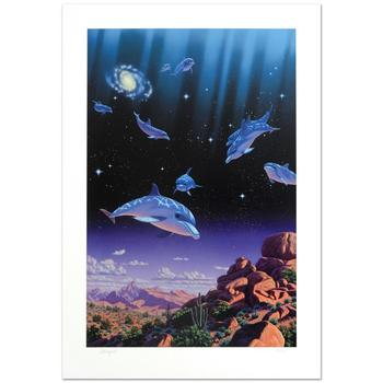 """William Schimmel, """"Ocean Dreams"""" Ltd Ed Giclee, Numbered and Hand Signed with Certificate."""